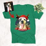 Christmas Personalized Pet Colorful Unisex Shirt,Christmas Shirt, Gift For PetLovers