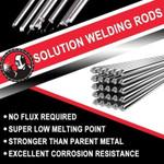 ⭐️Solution Welding Flux-Cored Rods