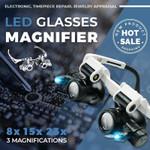 ⭐️ Led Glasses Magnifier
