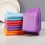 Fish Scale Microfiber Polishing Cleaning Cloth (5 Pcs/set)