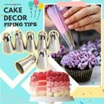 🔥 Cake Decor Piping Tips