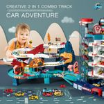 Race Car Tracks Parking Lot Big Adventure Set 🔥 HOT DEAL - 50% OFF 🔥