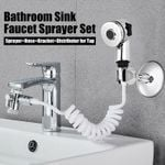 Bathroom Sink Faucet Sprayer Set 🔥 50% OFF - LIMITED TIME ONLY 🔥