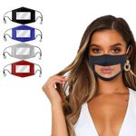 4-Pack: Smile Communicator Face Mask