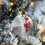 I Can Only Imagine Red Cardinal Birds - Ornaments