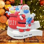 2021 Christmas Ornament Santa Claus