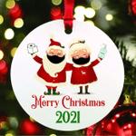 Mr And Mrs Claus 2021 Keepsake Christmas Ornament
