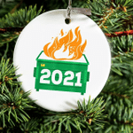 2021 Bad Year Ornament - 2021 Dumpster Fire