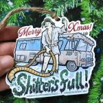 Shitter's Full Cousin Eddie - Christmas Vacation Ornamen
