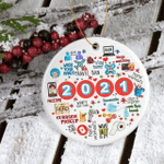 2021 Covid Ornament 2021 Christmas Ornament Sanitizer Quarantine Ornament