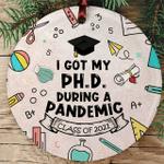 2021 Graduation Ornament Gift Phd Graduation Gifts
