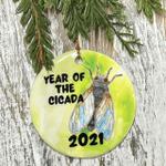 Cicada 2021 Christmas Ornament Year Of The Cicada