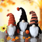 Halloween Gnome Trick Or Treat Fall Gnome With Pumpkin