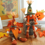 Halloween Gnomes Plush Decor Halloween Witch Gnome