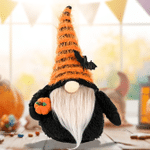 Halloween Gnomes Plush Decor Halloween Pumpkin Gnome