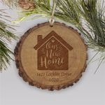 Engraved Our New Home Holiday Custom Tree Ornament