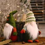 Snata Gnome Non Woven Fabric Ornaments