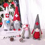 Snata Gnome Plush Doll Christmas Ornament