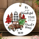 Christmas Ornament Personalized Couples Ornament