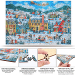 Christmas Puzzle For Adults Christmas Gift Artwork