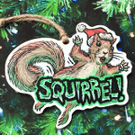 Squirrel In The Tree!! - Christmas Vacation Ornament