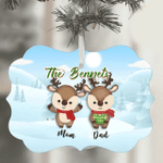 Christmas Gingerbread Family Ornament Personalized 2021 Family Christmas Ornament