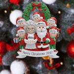 Personalized Family Christmas Ornaments Christmas Tree Decorations