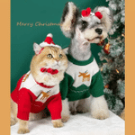 Christmas Dog Cat Clothes Winter Warm Pet Dog Sweater For Small Medium Dogs
