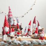 Handmade Christmas Santa Doll Table Decoration