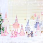 Christmas Stretchable Leg Doll Ornaments