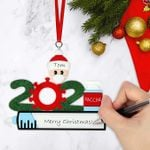 2021 We Survived Family Christmas Ornament