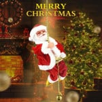 Santa Claus Musical Climbing Rope 🔥CHRISTMAS HOT SALE NOW-50% OFF🔥