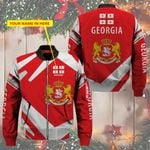 3D Bomber Jacket - Limited Edition - Georgia