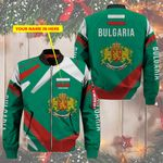3D Bomber Jacket - Limited Edition - Bulgaria