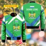 3D Bomber Jacket - Limited Edition - Sierra Leone