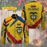 3D Bomber Jacket - Limited Edition - Colombia