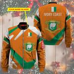 3D Bomber Jacket - Limited Edition - Ivory Coast