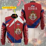 3D Bomber Jacket - Limited Edition - Serbia