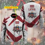 3D Bomber Jacket - Limited Edition - Latvia