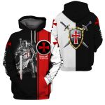 3D Knight Templar Apparel - Amor Of Cross