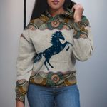3D Apparel - Limited Edition - Horse Mandala Pattern