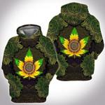 weed sunflower mandala3D All Over Printed Shirt, Sweatshirt, Hoodie, Bomber Jacket Size S - 5XL