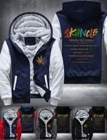 Weed skuncle more chill Winter Jacket
