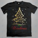Xmas tree merry weedmas Graphic Unisex T Shirt, Sweatshirt, Hoodie Size S - 5XL