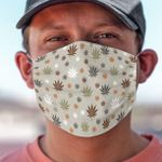 Weed Pattern Face Mask PM 2.5 3pcs
