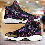 Weed vibes color Air Jordan 13 Sneakers