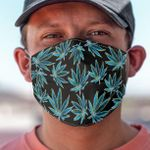 Weed Pattern Face Mask PM 2.5 3pcs #51592