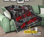 Mortobike Racing x Skull  Tie Dye Premium Quilt Blanket Size Throw, Twin, Queen, King, Super King