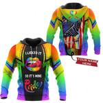 Custom 3D All Over Printed LGBT TU Shirts Ver 1