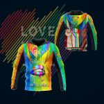 3D All Over Printed LGBT TU Shirts Ver 2